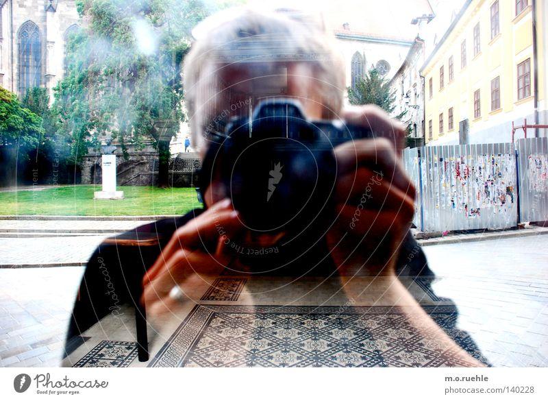 subjekt_objekt Spiegel Spiegelbild Spielen Bild-im-Bild Bratislava Gedicht Dekoration & Verzierung Flur drei räume verspiegelt der autor und sein werk
