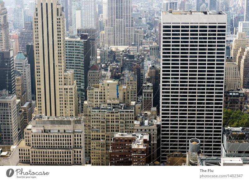 Hochh(in)aus Ferien & Urlaub & Reisen Tourismus Häusliches Leben Hausbau Wirtschaft Baustelle Business New York City Manhattan USA Nordamerika Stadt