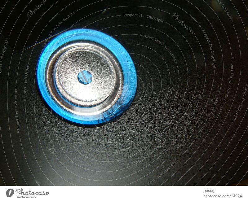 Minidisc01 Stil schwarz Musik Freizeit & Hobby minidisk blau blue Loch