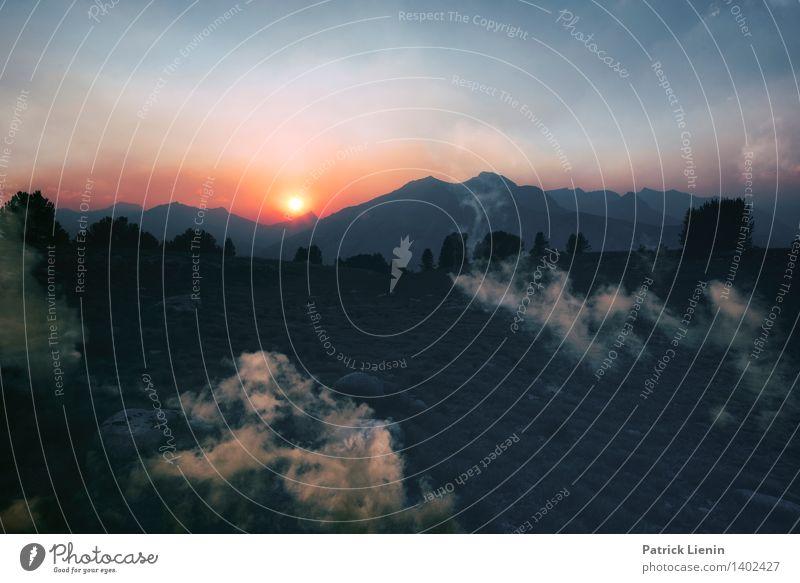 Dreamscape (5) Himmel Natur Ferien & Urlaub & Reisen Pflanze Sommer Baum Erholung Landschaft Wolken Ferne Wald Berge u. Gebirge Umwelt Freiheit träumen