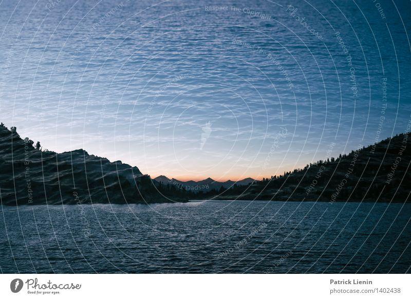 Dreamscape Himmel Natur Ferien & Urlaub & Reisen Wasser Erholung ruhig Ferne Berge u. Gebirge Umwelt Freiheit Tourismus Zufriedenheit Wetter wandern Wellen