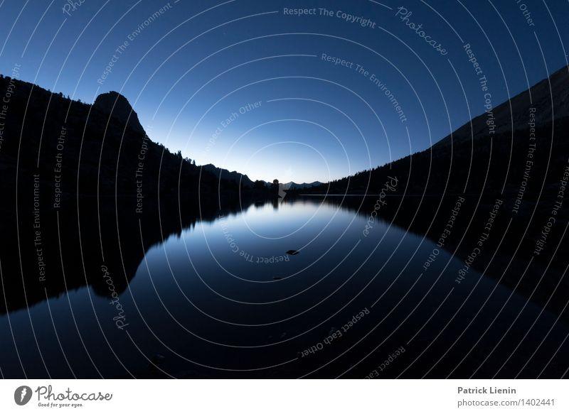 Rae Lakes im Kings Canyon National Park Himmel Natur Ferien & Urlaub & Reisen Sommer Landschaft Ferne Wald Berge u. Gebirge Umwelt Küste Freiheit See Felsen