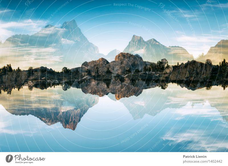 Banner Mountain ² Natur Erholung Landschaft ruhig Ferne Berge u. Gebirge Umwelt Freiheit See Wetter Zufriedenheit Tourismus Ausflug Klima Schönes Wetter