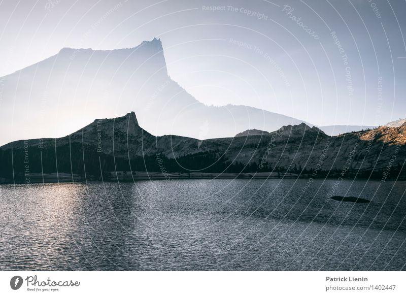 Überirdisch Himmel Natur Ferien & Urlaub & Reisen Erholung Landschaft ruhig Ferne Berge u. Gebirge Umwelt Freiheit See Felsen Horizont Zufriedenheit Wetter