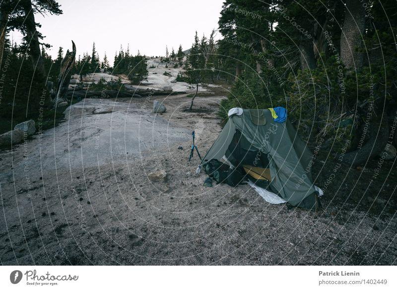 Nachtlager Wellness harmonisch Wohlgefühl Zufriedenheit Sinnesorgane Erholung Berge u. Gebirge wandern Umwelt Natur Landschaft Urelemente Sommer Klimawandel