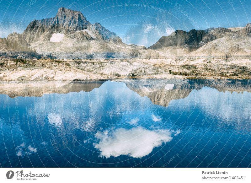 Verdrehte Welt Himmel Natur Ferien & Urlaub & Reisen Sommer Wasser Landschaft Wolken Ferne Berge u. Gebirge Umwelt Küste Freiheit See Felsen Tourismus