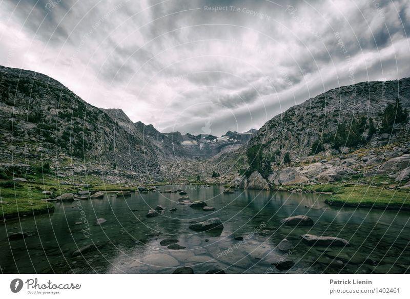Mt Lyell Tourismus Ausflug Abenteuer Ferne Expedition Berge u. Gebirge wandern Umwelt Natur Landschaft Urelemente Luft Himmel Wolken Gewitterwolken Klima