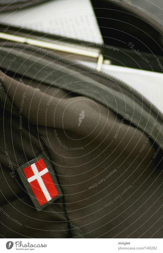 H08 - Dänemark weiß grün Ferien & Urlaub & Reisen rot Metall braun offen Schilder & Markierungen Papier Europa Stoff Güterverkehr & Logistik Fahne Länder