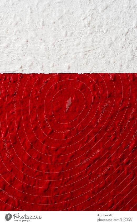 rot & weiß rot-weiß Tapete Raufasertapete tapezieren mehrfarbig rau zweifarbig Schweiz streichen 2 zweiteilig polnisch Detailaufnahme Dekoration & Verzierung