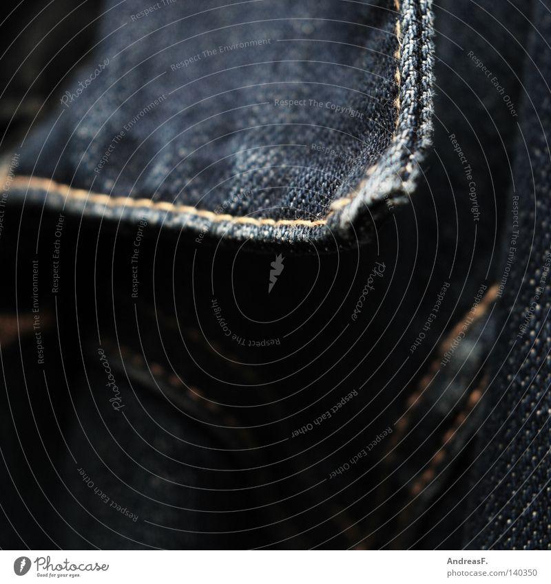 BlueJeans Jeansstoff Stoff Jeansjacke Jeanshose Kragen Textilien Bekleidung Naht Schneider Wolle Unschärfe Freizeit & Hobby blue blau stoffstruktur nahtstelle
