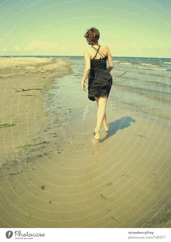 free as I wanna be Jugendliche Sommer Strand retro Mecklenburg-Vorpommern Boltenhagen