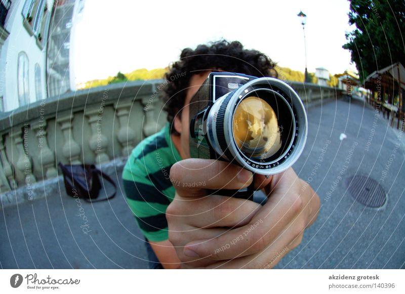 iLike my Super8 Fischauge Entertainment Super 8 Filming Camera ancient retarded Kanton Bern münsterplattform