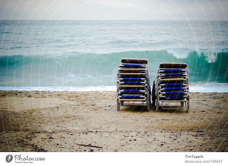 17x Sonnenbrand Wasser Meer Strand Ferien & Urlaub & Reisen Erholung See Sand Wellen Tourismus liegen Möbel Sonnenbad Ostsee Nordsee Stapel Brandung