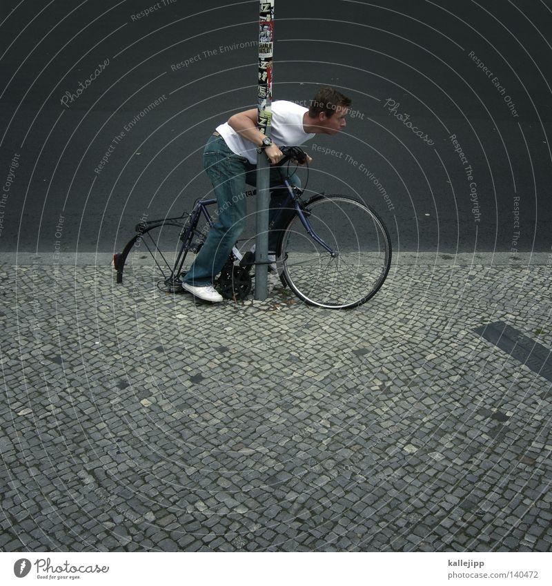phönix aus der asche Mensch Mann Verkehr Schlüssel Ferien & Urlaub & Reisen Freude lustig Fahrrad Geschwindigkeit kaputt fahren Bildung Burg oder Schloss Rost