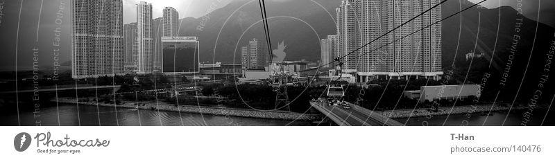 träumen Architektur Insel Asien China Örtlichkeit Entwicklung Hongkong
