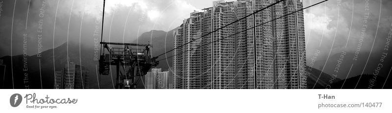 China Traum_4 Asien Lantau Insel Architektur Dichte Neustadt Örtlichkeit Hongkong Entwicklung träumen