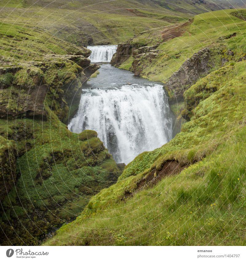 Wasser weg! Ferien & Urlaub & Reisen Tourismus Ausflug Abenteuer Ferne Expedition Berge u. Gebirge wandern Umwelt Natur Landschaft Pflanze Klima Gras Fluss