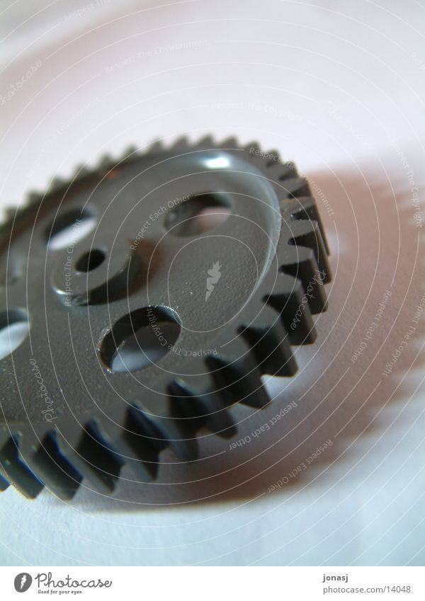 Neue Technik Maschine Industrie Makroaufnahme Zahnrad Tool