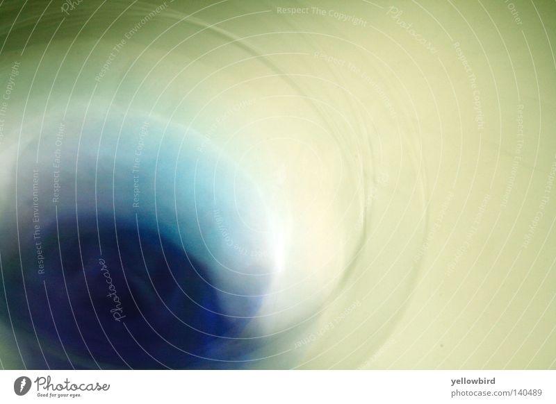 Blaues Blau Wasser blau Glas Kreis obskur drehen Schalen & Schüsseln schwingen