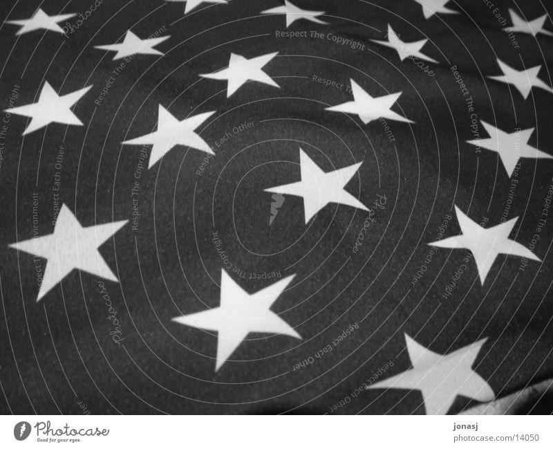 Alles schwarzweiß? USA Fahne Streifen Amerika historisch Starruhm Schwarzweißfoto