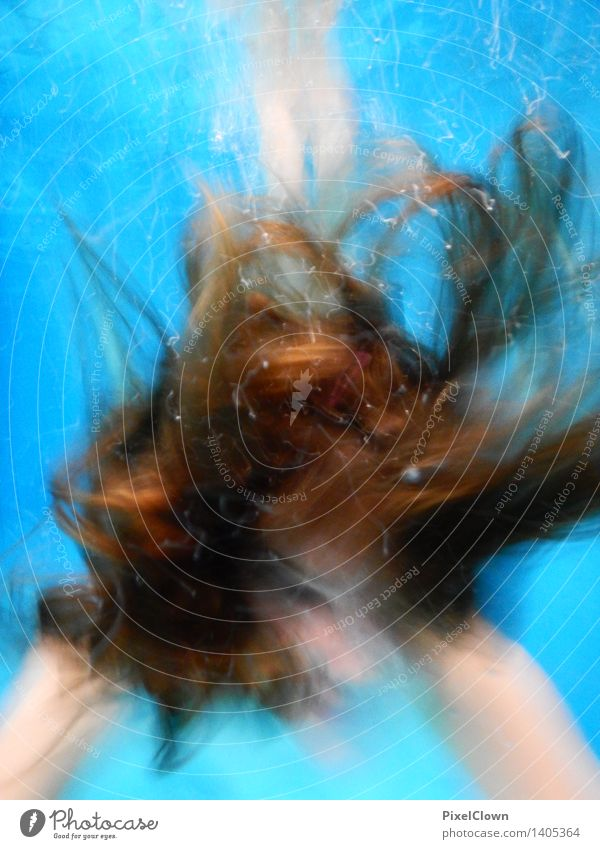 Ariel, die Meerjungfrau Wellness Schwimmen & Baden Tourismus Sommerurlaub Strand Sport tauchen feminin Körper 1 Mensch 13-18 Jahre Jugendliche Haare & Frisuren
