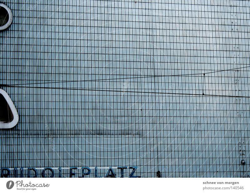 raumgreifend blau Fenster Platz Fliesen u. Kacheln verfallen Köln Theater Straßenbahn Denkmalschutz