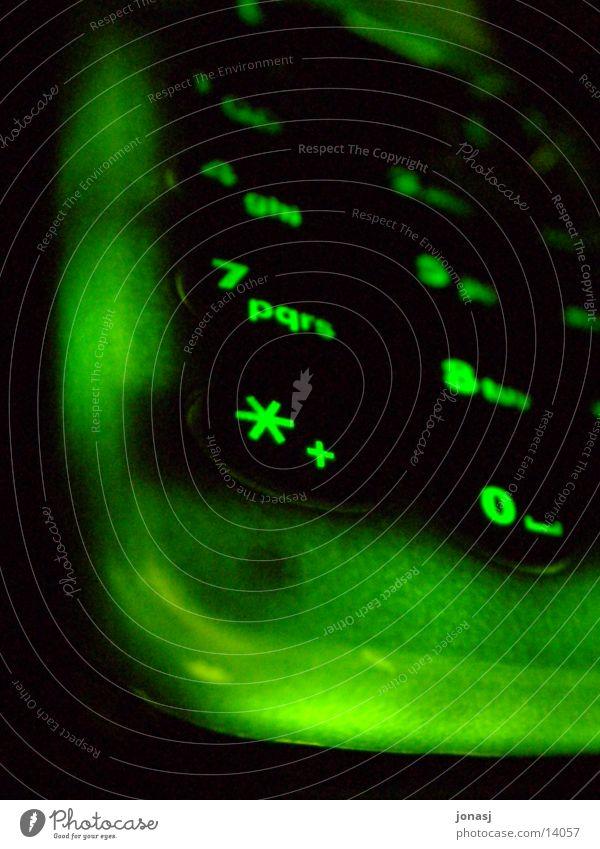 Uii, mein Handy strahlt grün dunkel Freizeit & Hobby Mobilität Telefon