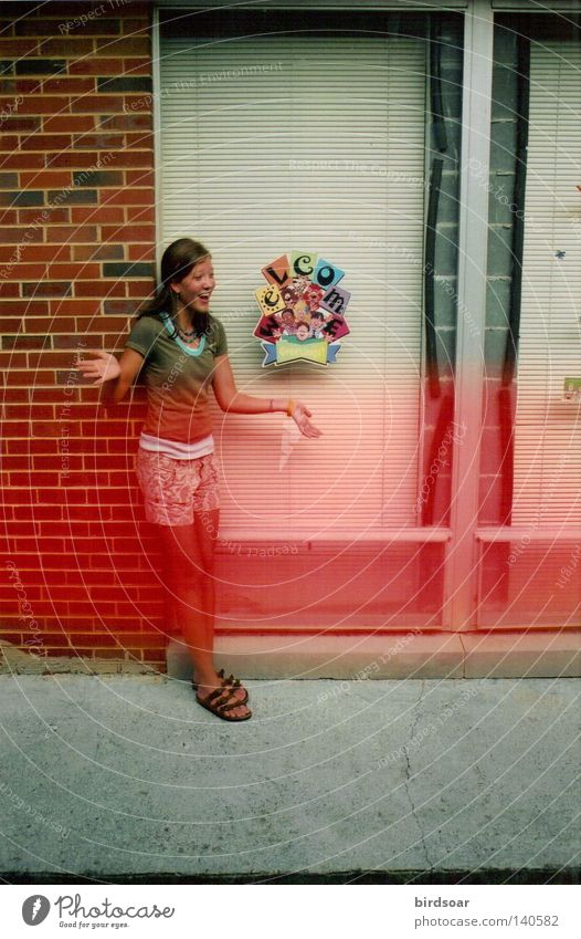 Sommer'07 Farbstoff Schatten Jugendliche 2007 Filmindustrie Farbe Light leak Wärme Erinnerung