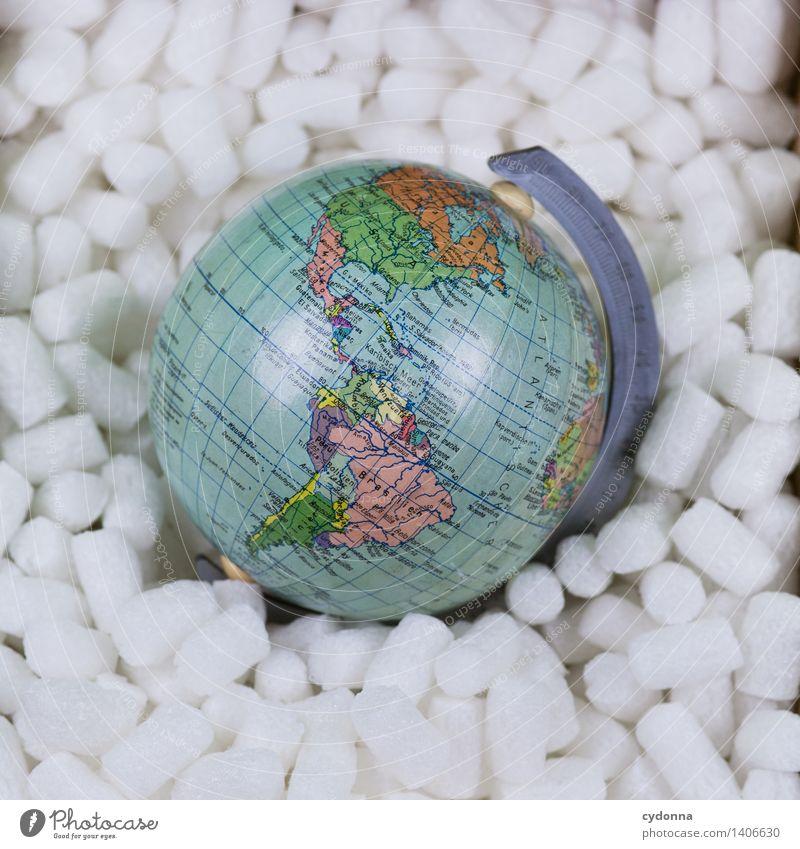 Vorsicht zerbrechlich Lifestyle Wirtschaft Güterverkehr & Logistik Business Verpackung Globus Beratung einzigartig Frieden bedrohlich Gesellschaft (Soziologie)