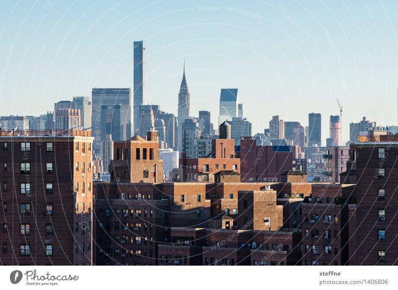 NYC |13 New York City Manhattan USA Stadt Stadtleben Hochhaus Skyline ästhetisch Freiheit Amerika Chrysler Building Backstein park avenue Wahrzeichen Morgen