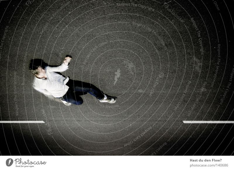 Airwalk springen Le Parkour Abend Luft Freizeit & Hobby hüpfen Sonnenuntergang Typ Horn Mann Junger Mann Körperhaltung X-Men südländisch Schatten Bewegung