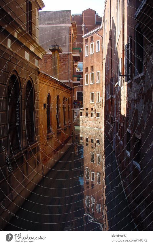 Venedig Reflexion & Spiegelung Ferien & Urlaub & Reisen Italien Haus Europa Wasser