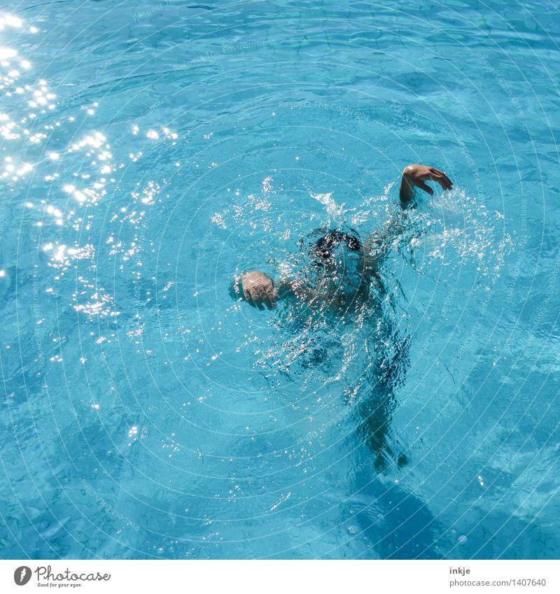 Geistertaucher Lifestyle Freude Schwimmbad Schwimmen & Baden Freizeit & Hobby Ferien & Urlaub & Reisen Sommerurlaub Kind Mädchen Junge Junge Frau Jugendliche