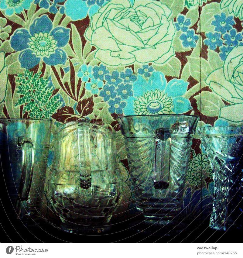 concept garden Vase Rose Muster Tapete Kannen Blumenvase virtuell Krug Küche schön wallpaper the chelsea flower show pattern flowers Garten pflegeleicht jug