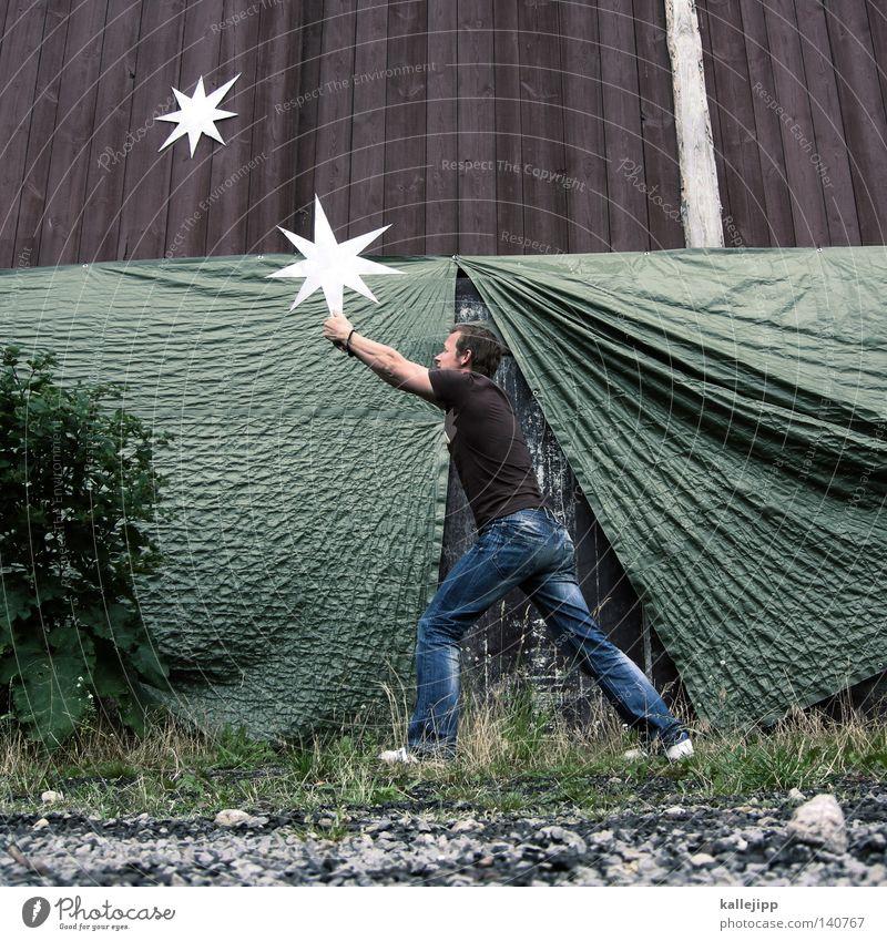 stars in der manege Stern Mann Silhouette Dieb Krimineller Rampe Laderampe Fußgänger Schacht Tunnel Untergrund Ausbruch Flucht umfallen Fenster Parkhaus Licht