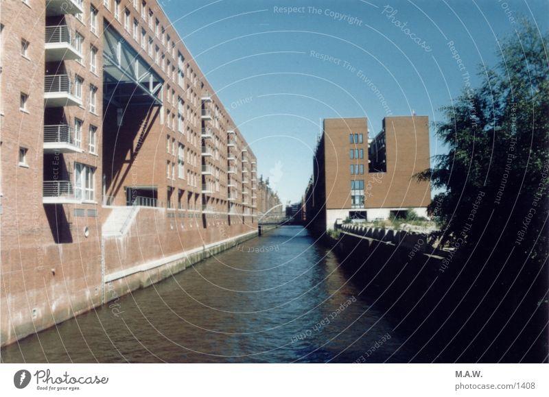 Speicherstadt Hamburg Backstein historisch Hamburger Hafen Alte Speicherstadt
