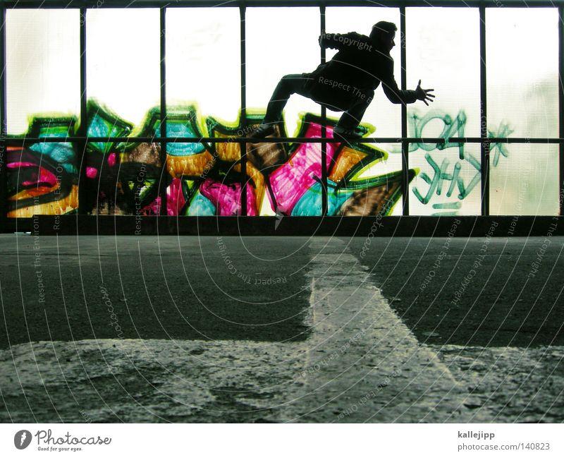 urban kirchenfenster Parkdeck Parkplatz Wächter Besucher Ausstellung gelb einzigartig Paar 2 Zwilling Wahrsagerei Fassade Mann Mensch stehen Pfütze Typographie