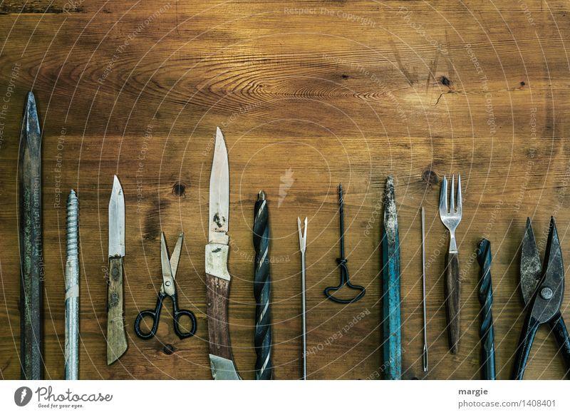 Alles was spitz ist Basteln Modellbau heimwerken Beruf Handwerker Dienstleistungsgewerbe Werkzeug Schere Bohrmaschine Technik & Technologie Holz Metall Spitze