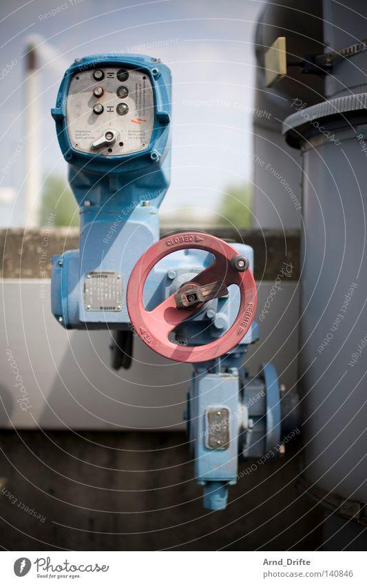 Ich regel das... Wasser Umwelt dreckig Trinkwasser Industrie Industriefotografie Sauberkeit Reinigen Ruhrgebiet Kontrolle Aktien Steuerelemente Abwasser stellen Regler Bottrop