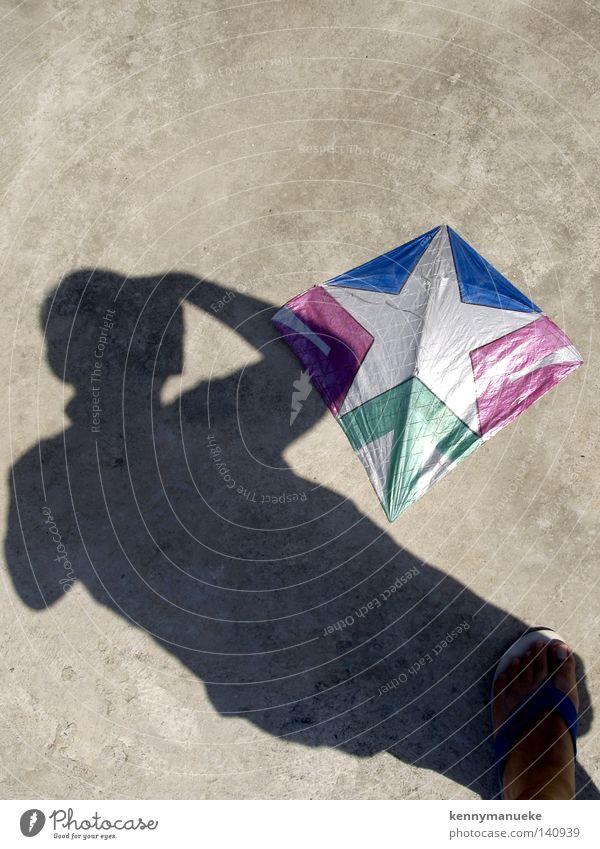 Drachen & ich Granit Schatten Sandale Handwerk Boden rot Selbstporträt vertikal Stern (Symbol)