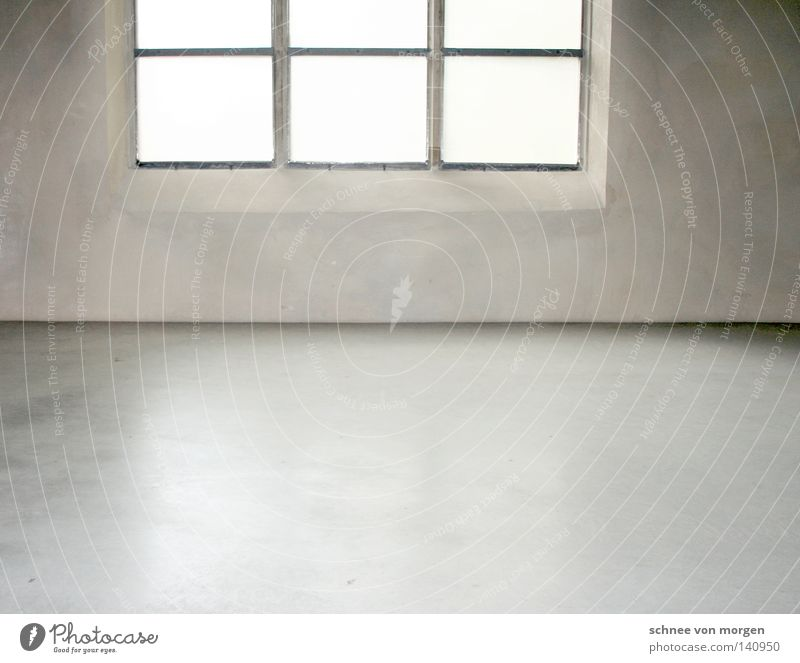 glanz in der hütte Fenster grau Beton Köln weiß Rechteck schwarz Sauberkeit hell Gotteshäuser modern Bodenbelag Ecke Raum Glätte Schatten Leben Dorf Architektur