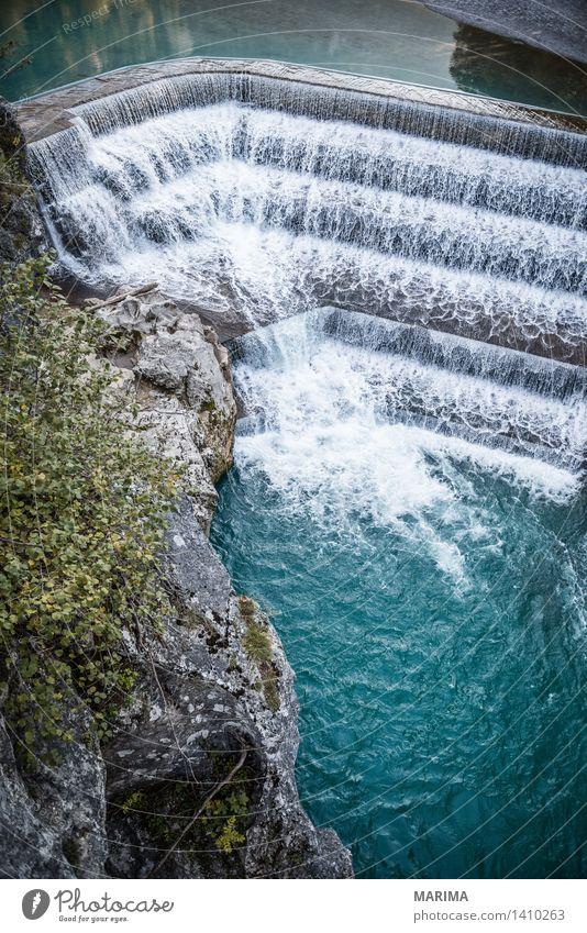 Autumn day in the Allgäu Natur Ferien & Urlaub & Reisen Pflanze blau grün Wasser Sonne Landschaft ruhig Berge u. Gebirge Umwelt Herbst Stein Deutschland Felsen wandern