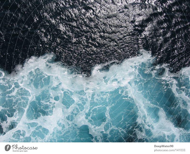 Eiswasser Ferien & Urlaub & Reisen Wasser Meer Freude kalt Freiheit Wasserfahrzeug frei Frost Teilung Leichtigkeit Erfrischung Schaum herzbewegend zweifarbig