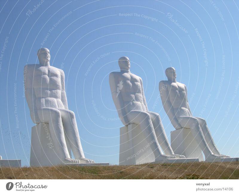 Dauersitzer Statue Dinge