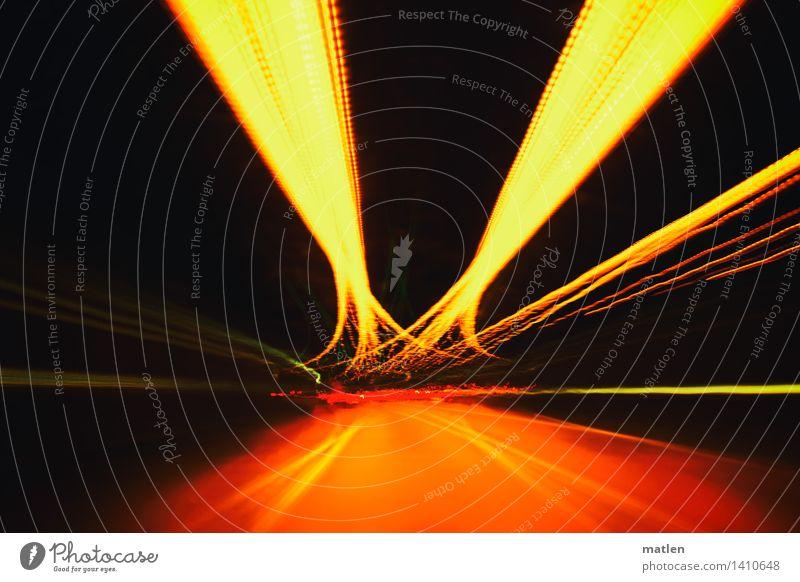 undertow Stadt Menschenleer Tunnel Verkehr Verkehrswege Straßenverkehr Autofahren trashig braun mehrfarbig gold grün Kurve Kurvenlage Farbfoto Außenaufnahme