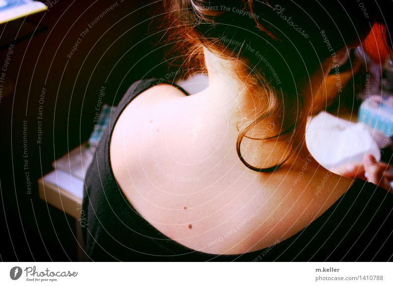 curl Mensch Frau Jugendliche schön Junge Frau Freude 18-30 Jahre Erwachsene Leben Gefühle feminin Stil Gesundheit Haare & Frisuren Kopf Zufriedenheit