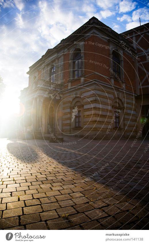 festspielhaus bayreuth Festspiele Bayreuth Gebäude Oberfranken Bayern historisch Klassik Bühne akustisch Portal Stil Fachwerkfassade Bauweise Publikum Dirigent