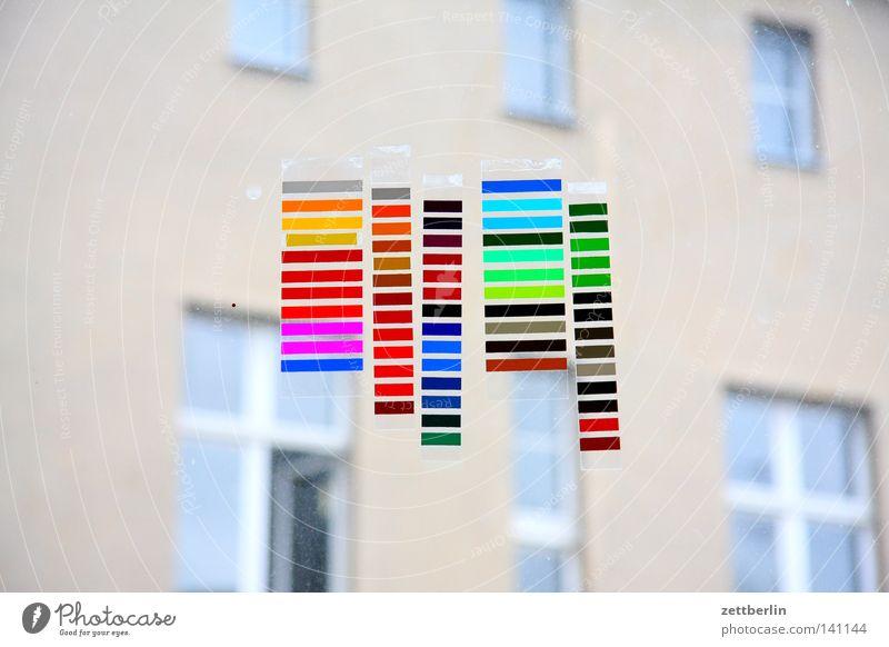 Farben Kommunizieren Werbung Dekoration & Verzierung mehrfarbig Regenbogen Originalität Folie Leuchtreklame Farbfleck spektral Farbton Farbenwelt Farbtopf