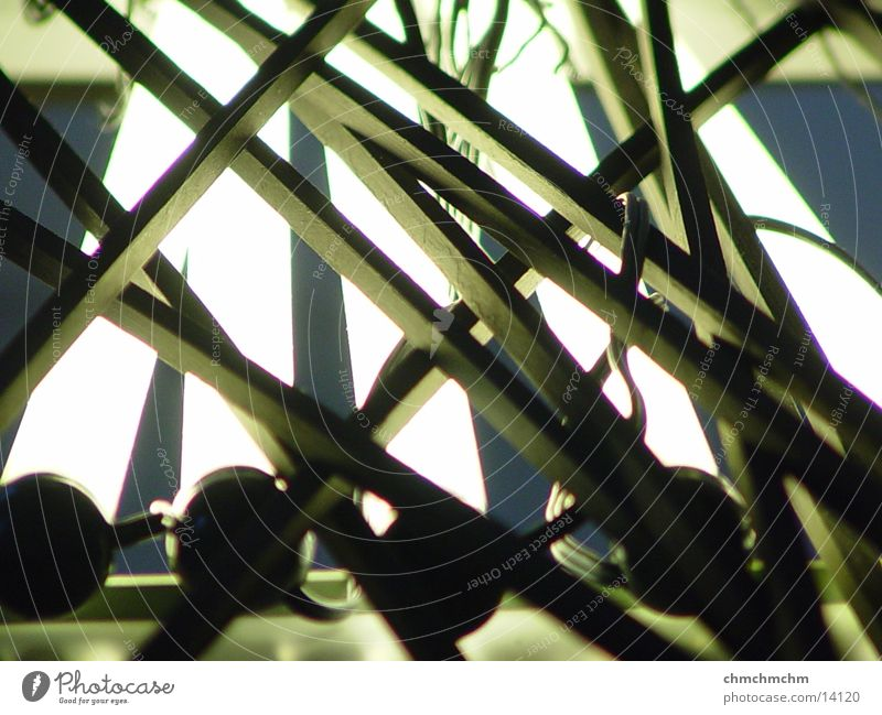 wired Lampe hell Tisch Kabel obskur