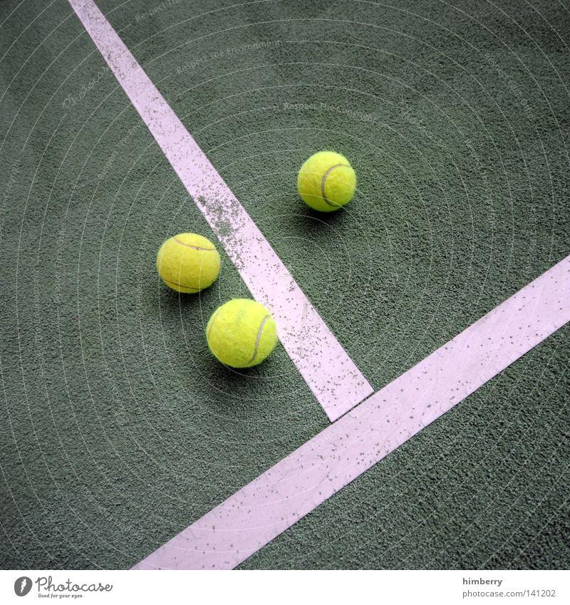 advantage Tennis Platz Tennisplatz Spielen Sport Freizeit & Hobby Freude Fan Bewegung Linie Spielplatz Spielfeld Kunststoff Bodenbelag Halle Ballsport Wimbledon